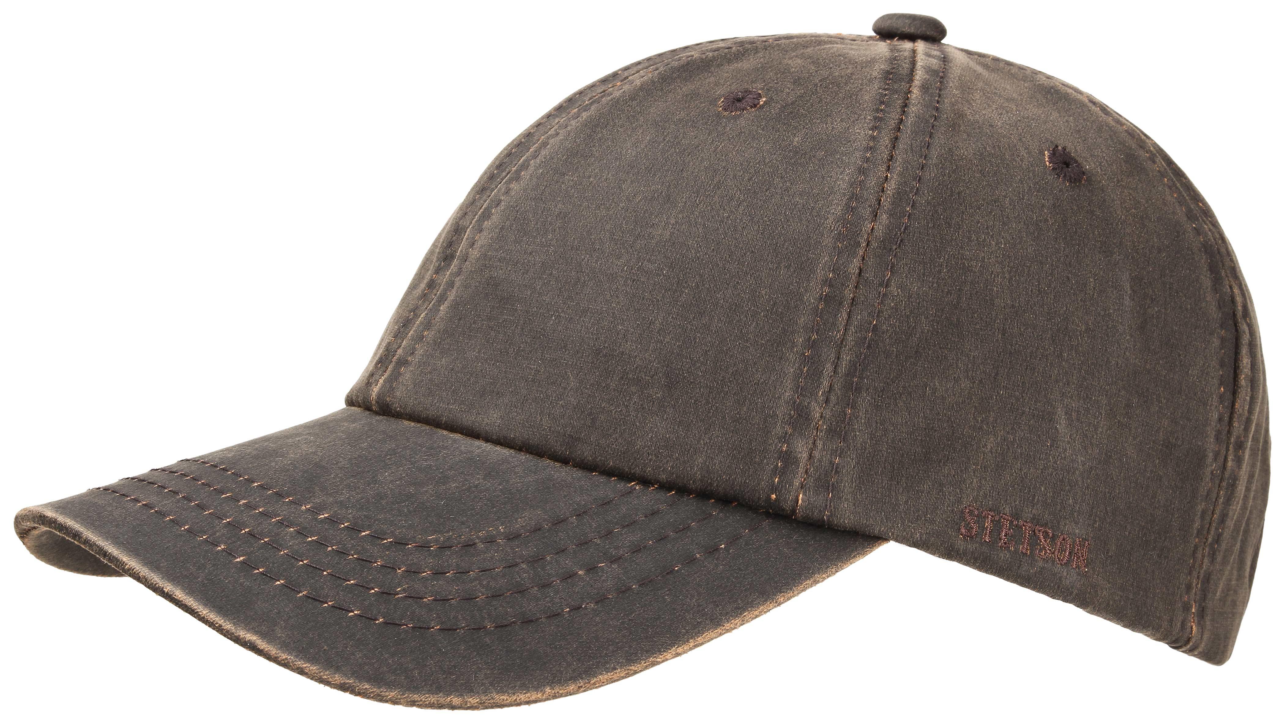 Casquette baseball Statesboro Stetson marron - Kausia 53755a691c9