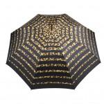 Parapluie droit femme automatique New rayure léopard