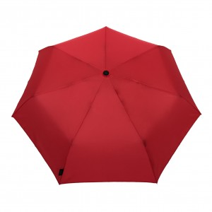 Parapluie pliant femme automatique framboise