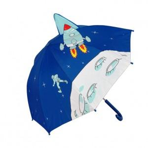 Parapluie droit enfant automatique fusée