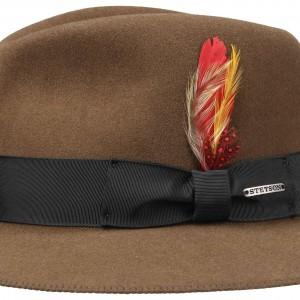 elegantes und robustes Paket Neueste Mode noch nicht vulgär Chapeau malléable Atlanta / Vienna Vitafelt Stetson marron