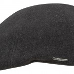 Casquette plate Texas Wool/Cashmere Earflaps Stetson anthracite