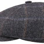 Casquette plate Oregon Stetson anthracite