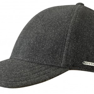 Casquette baseball Vaby Earflaps Stetson anthracite