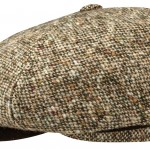 Casquette gavroche Brooklin Virgin Wool Stetson tweed multicolore