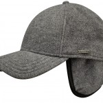 Casquette baseball Vaby gris Earflaps Stetson