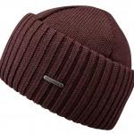 Bonnet en tricot Northport Merino Wool Stetson bordeaux