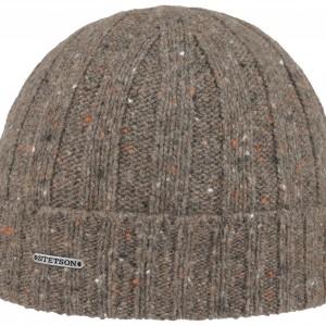 Bonnet en tricot Wisconsin Donegal Stetson olive
