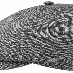 Casquette Panel Cap Linen/Cotton Stetson gris