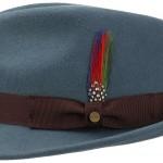 Chapeau trilby Richmond Stetson bleu clair