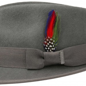 Chapeau malléable trilby Boston Stetson gris