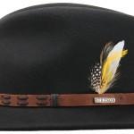 Chapeau malléable Leather Trim Vitafelt Stetson noir