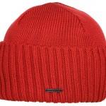 Bonnet en tricot Northport Merino Wool Stetson rouge