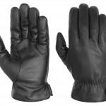 Gants en cuir Nappa Conductive Stetson noir