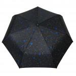 Parapluie pliant femme automatique Etoiles bleu