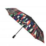 Parapluie pliant femme automatique Geometric Colors
