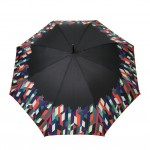 Parapluie droit femme automatique Geometric Colors
