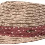 Chapeau trilby Stripe Braid Stetson marron-beige