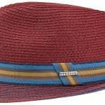 Chapeau trilby Munster Toyo Stetson rouge foncé