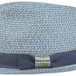 Chapeau trilby Contrast Colour Toyo Stetson bleu-vert