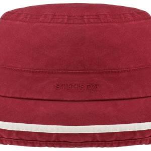 Chapeau Ladies Sun Hat Delave Organic Cotton Stetson bordeaux