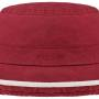 Chapeau Ladies Sun Hat Delave Organic Cotton Stetson bordeaux