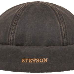 Bonnet Docker Co/Pes Stetson marron