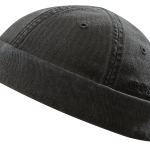 Bonnet Docker Ocala Cotton Stetson noir