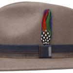 Chapeau en feutre Traveller Parlesto Stetson taupe