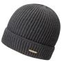 Bonnet en tricot Parkman Stetson gris anthracite