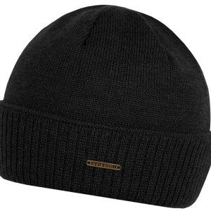 Bonnet en tricot Blakely Neonsign Stetson noir