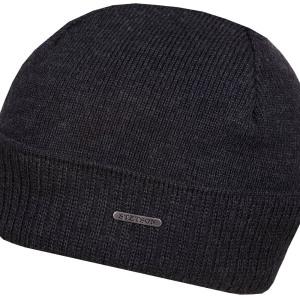 Bonnet en tricot Blakely Neonsign Stetson gris anthracite
