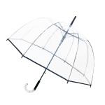 Parapluie Big Cloche femme transparent