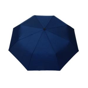 Parapluie pliant mixte automatique bleu