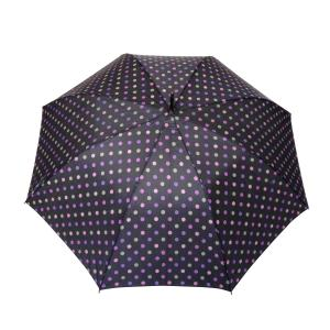 Parapluie droit femme automatique fuchsia
