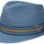 Chapeau trilby Munster Toyo Stetson bleu