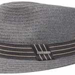 Chapeau Fedora Carson Stetson gris-bleu