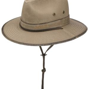 Chapeau Traveller Tarnell Coton Stetson beige
