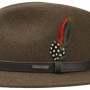 Chapeau en feutre Traveller Powell Stetson marron