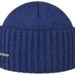 Bonnet en tricot Northport Merino Wool Stetson bleu