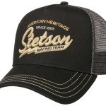 Casquette Trucker Cap Racing Team Stetson noir