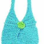 Panier enfant Lily turquoise