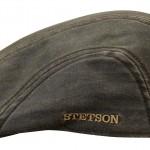 Casquette plate Madison Stetson marron