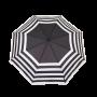 Parapluie pliant femme automatique new rayure avec motif marinière