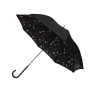 Parapluie droit femme automatique Papillons