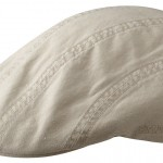 Casquette plate Madison Organic Cotton Stetson beige