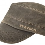 Casquette Army Datto Co/Pes Stetson marron
