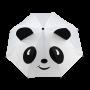 Parapluie droit enfant automatique panda