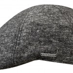 Casquette plate Texas Donegal Stetson anthracite