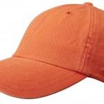 Casquette baseball Rector Stetson orange